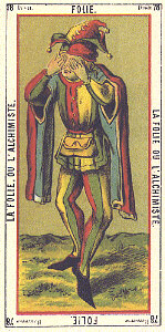 The Fool from Tarot Egyptien