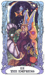 The Empress from Tarot of a Moongarden