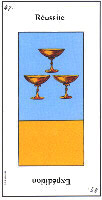 Three of Cups from Grand Etteilla