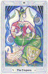 The Empress from The Thoth Tarot