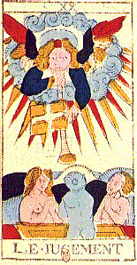 Judgment from Tarot de Marseille by Conver