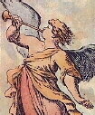 The Angel or Judgment from I Tarocchini Secolo XVII by Mitelli