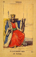 King of Wands for le Jeu De La Princesse Tarot
